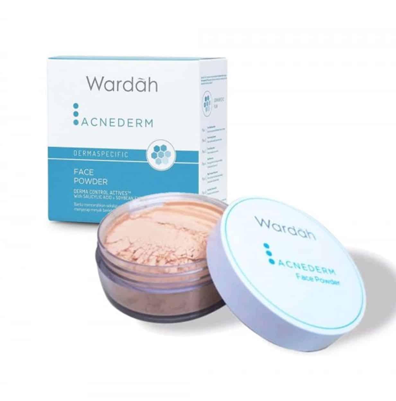 Acnaderm-Face-Powder-Wardah