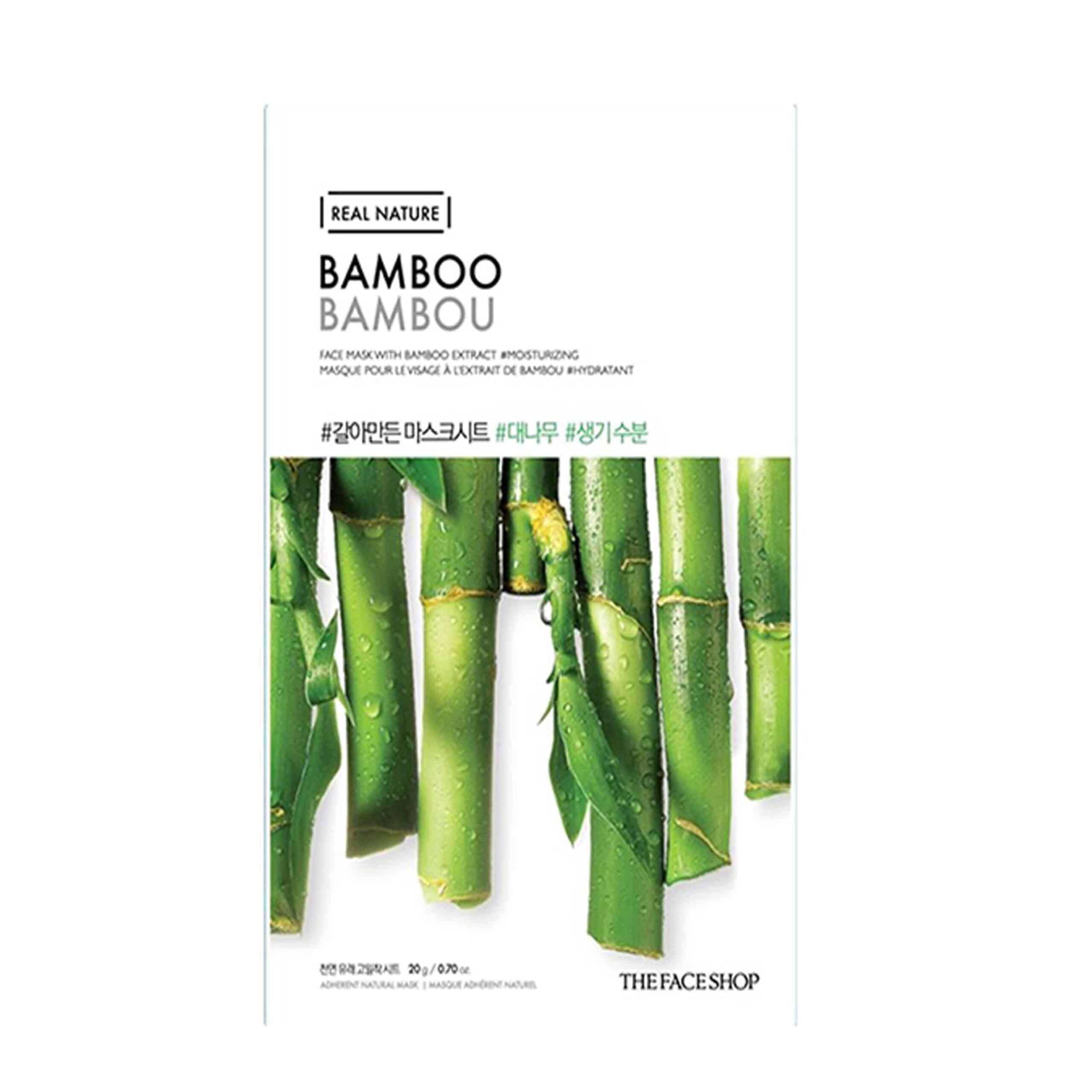 The-Face-Shop-Real-Nature-Bamboo-Face-Mask
